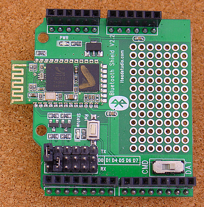 Arduino UNO/Mega Starter, controlled by Android/<A HREF=