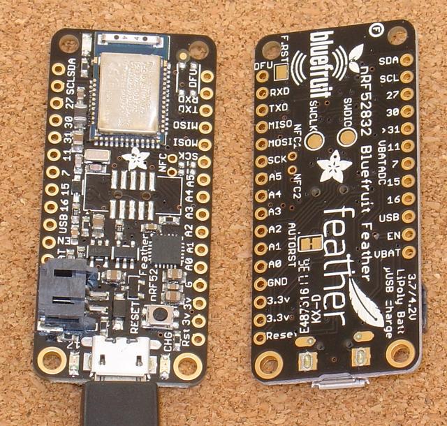 Adafruit Feather nRF52 LE - Custom Controls with pfodApp™ No coding