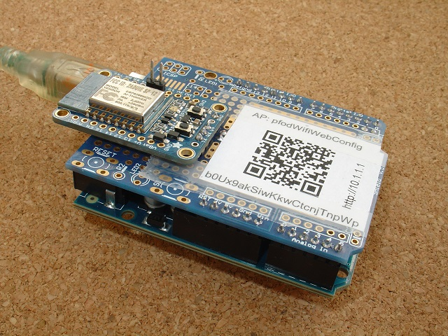 Cheap/Simple Wifi Shield - Rev 14 for Arduino and other micros