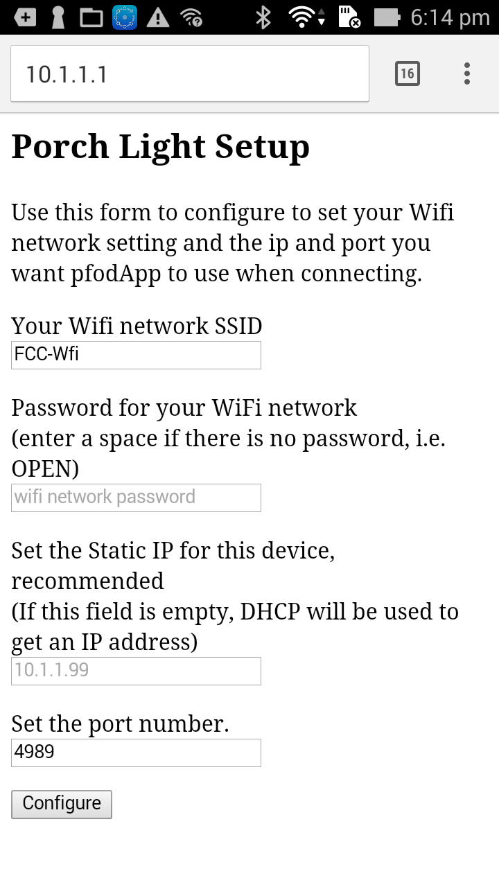 Connecting DIY IoT devices to the Internet with pfodApp How