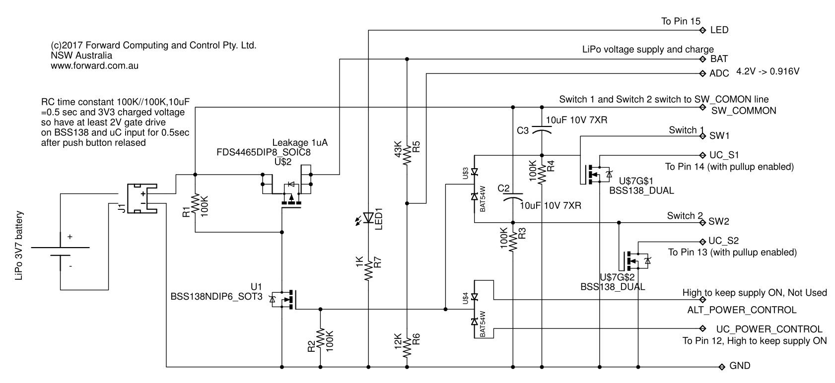 Long Life On/Off Remote WiFi, Bluetooth, BLE, Radio/LoRa or SMS