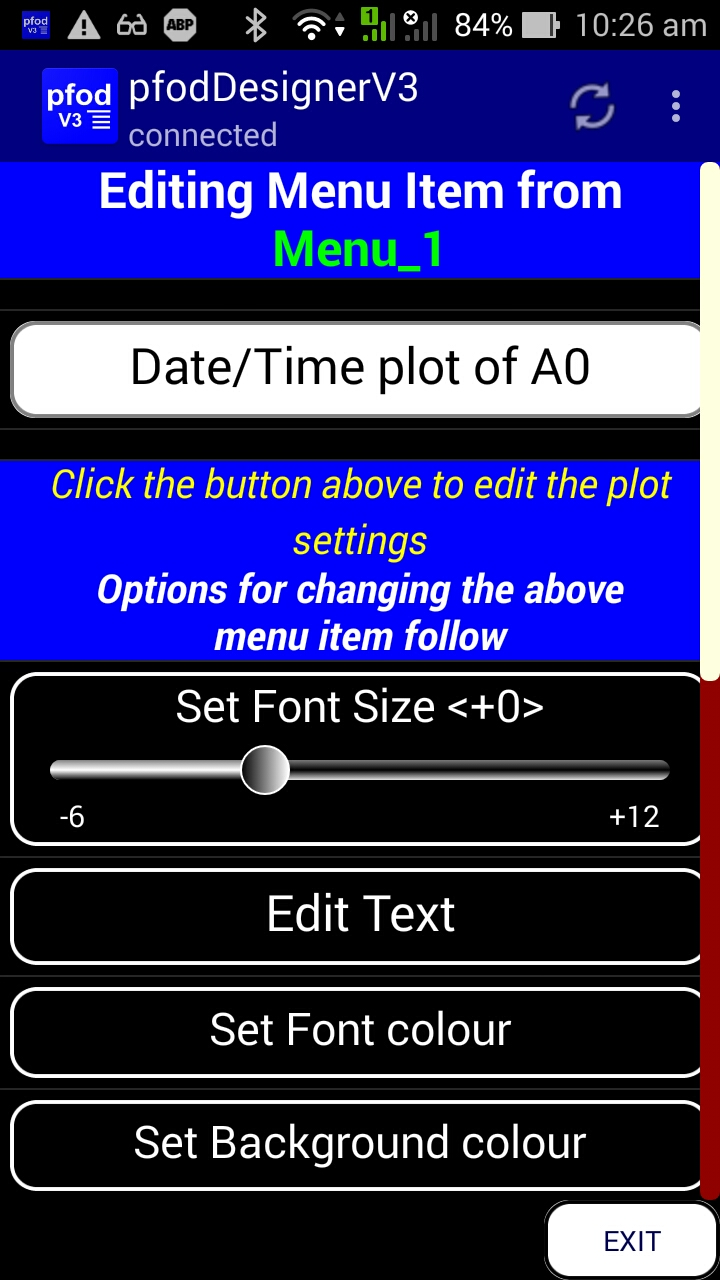 Arduino Date and Time using millis() and pfodApp™ No Arduino