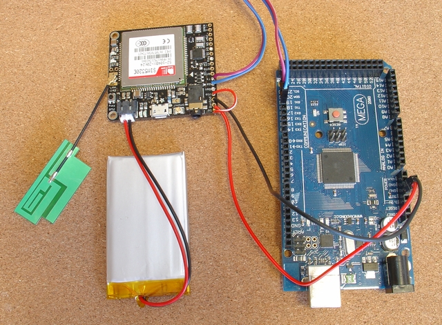 3G/2G SMS Remote Control (Arduino/pfodApp) Reliable, Secure