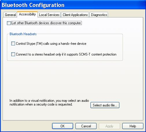 Bluetooth Connections Serial Bluetooth Connection To WindowsXP