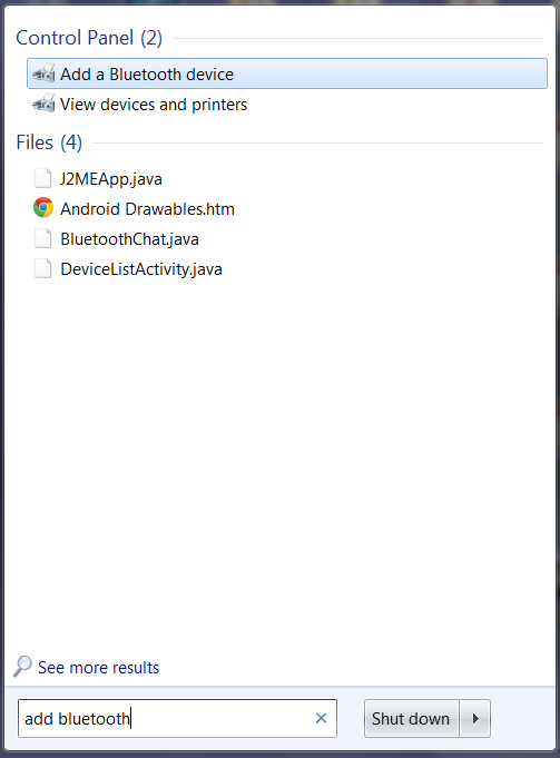 Windows 7 Serial Bluetooth Connection from you Mobile Phone